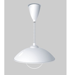Hanging light vector