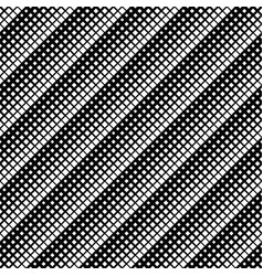 Monochrome abstract geometrical square pattern vector