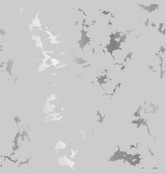 Silver splatter spots on gray luxurious backdrop vector