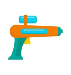 watergun icon flat style vector image
