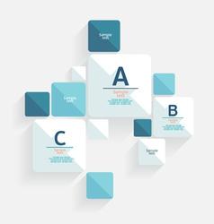 Modern flat design vector image