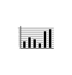 web marketing analytics solid icon vector image