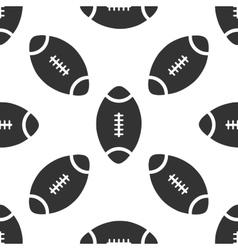 American Football ball icon pattern vector image