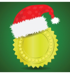 winter gold medal vector image