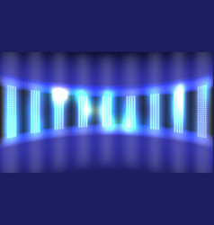 light led projection panel vector image