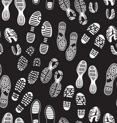 otisak cipela patern nove3 vector image