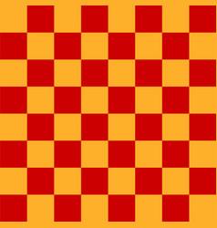 realistic chess board vector image