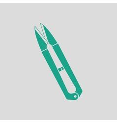 Seam ripper icon vector