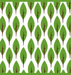 tree plant forest pattern background vector image