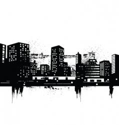 2008714 cityscape vector image vector image