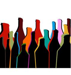 Alcoholic bar vector