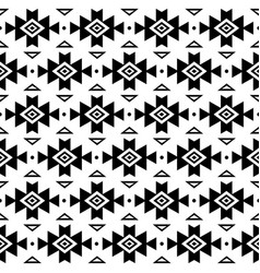 aztec pattern tribal background navajo vector image