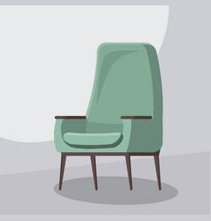 chair cartoon isolated vector image