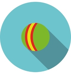 Children icon Green ball vector
