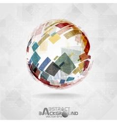 Colorful Globe Design vector