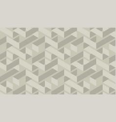 Craft geometric maze seamless pattern vector