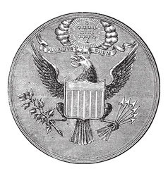 Great Seal of the United States of North America vector image