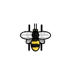 Insects flat icon vector image