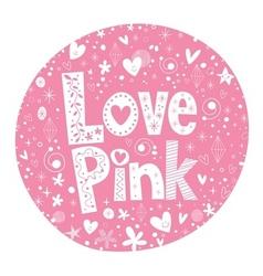 Love Pink 3 vector