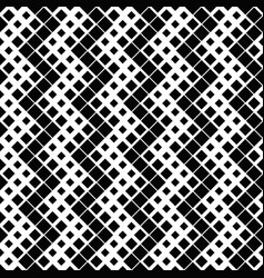 seamless geometrical diagonal square pattern vector image