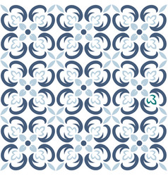 Seamless tile pattern endless texture can vector