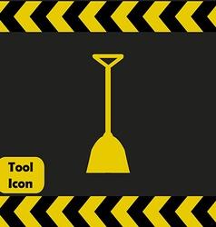 Shovel icon vector image vector image