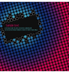 Abstract geometric background with space for text vector image