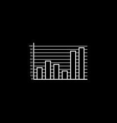 web marketing analytics line icon vector image