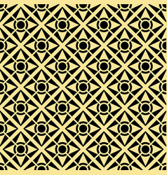 abstract art deco golden geometric seamless vector image