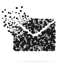 Abstract Creative concept icon of envelope vector