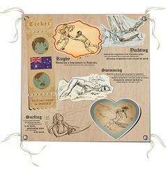 Australia - Pictures of Life Sport vector