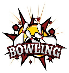 bowling2 resize vector image