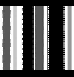 Filmstrips for photography multimedia or related vector