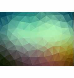 Flat multicolor geometric triangle wallpaper vector