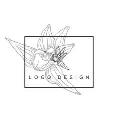 Logo design idea vector
