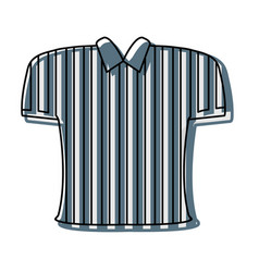 referee tshirt design vector image