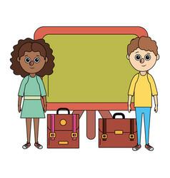 school education children cartoon vector image