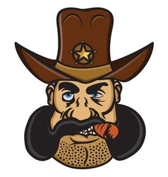 Sheriff cowboy1 resize vector