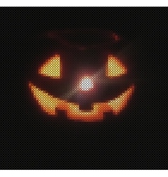 Textured pumpkins background vector