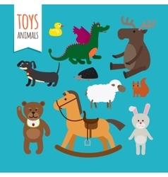 Toys Animals vector