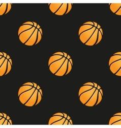 Universal basketball seamless patterns vector image
