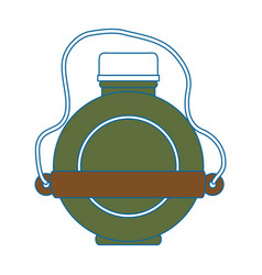 water canteen icon vector image