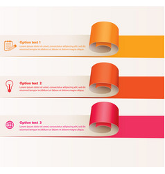 paper tape for various purposes vector image vector image