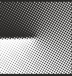 abstract geometric black and white graphic design vector image