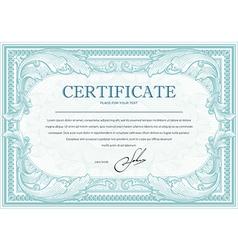 Certificate 2 vector