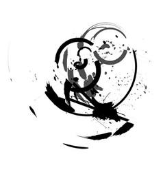 circle slick vector image