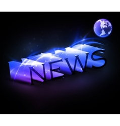 Colorful news vector