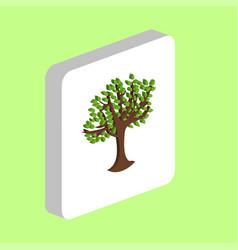 Maple tree computer symbol vector