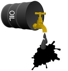 Petroleum products vector image
