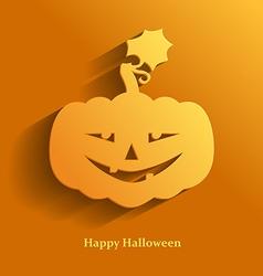 Pumpkin smile vector